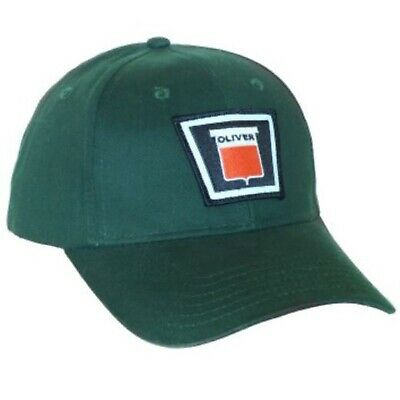 Oliver New Logo Tractor 6 Panel Green Hat - Cap Gift Fits Most