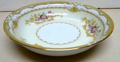 Antique -Noritake China -Pattern -Muriel-Mark Dated Year 1933-Fruit Plate-Japan