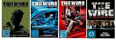 The Wire - Season/Staffel 2+3+4+5 * NEU OVP * DVD Box Set
