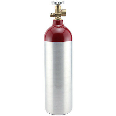 Nitrogen Gas Tank - 22 Cubic Foot Aluminum - Draft Beer Bar Guinness Dispensing