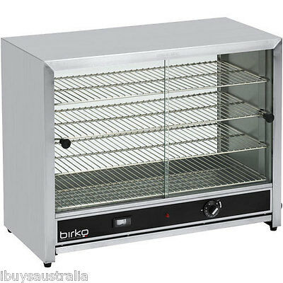 Birko Commercial 50 Pie Capacity Glass Door Pie Warmer - 1040091 - Brand New!