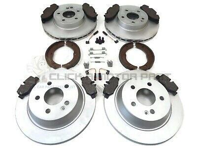 MERCEDES C220 2.2 CDI REAR BRAKE PADS SET INC COMPLETE FITTING KIT NEW KIT