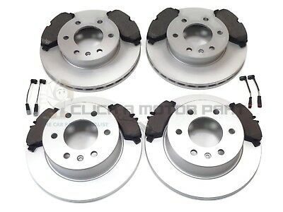 Vw Volkswagen Crafter Cr30 Cr35 Front & Rear Brake Discs And Pads & Sensors