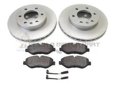 VW VOLKSWAGEN CRAFTER CR30 CR35 2.0 TDi & 2.5 TDi FRONT 2 BRAKE DISCS AND PADS