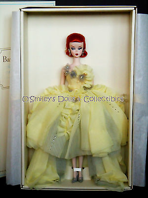 GALA GOWN 2012 BFMC SILKSTONE DOLL Gold Label 6500 (REDHEAD) Barbie_W3496_NRFB