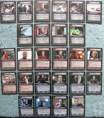 Star Trek CCG 2nd Edition (2E) Premiere Rare Card Selection [Part 2/4]
