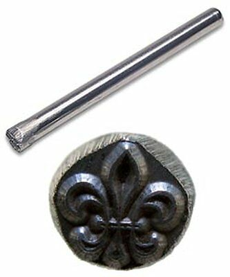 Jewelers Or Metal Worker Design Stamp Fleur Di Lis #88