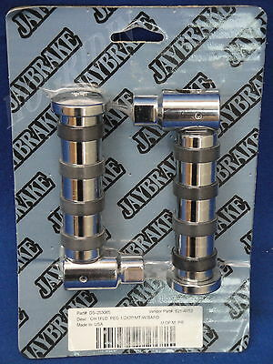 Jay Brake Spring Loaded Foot Pegs Harley Softail Dyna Sportster Touring Fatboy