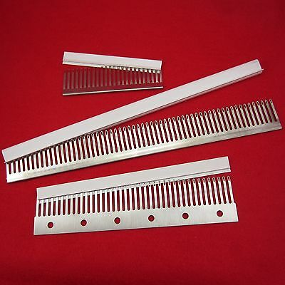 4.5mm 24 40 60 Deckerkämme- transfer combs decker knitting machine 5.6 gauge