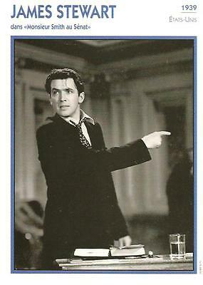 Fiche Cinema - James Stewart - Monsieur Smith Au Senat