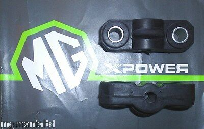 MGF MG F Pair Exhaust Mounting Rubbers Genuine Part WCS100090 mgmanialtd.com