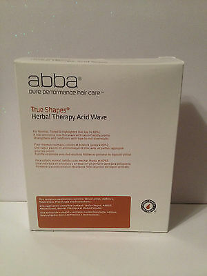 Abba Pure True Shapes Herbal Therapy Acid Wave Perm Kit