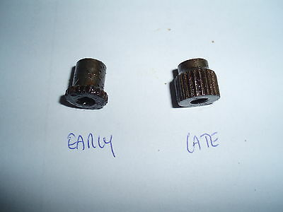 M1 Carbine Early Style Recoil Plate Screw & Nut, Us Gi, Wwii