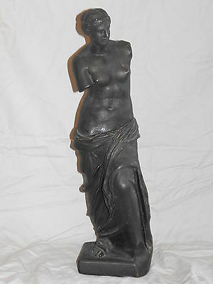 Old Antique Aphrodite Of Melos Greek Goddess VTG Venus Milo Statue Sculpture Art