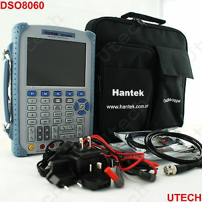DSO8060 60Mhz 5 in 1 Handheld oscilloscope/arbitrary source/ spectrum analysis
