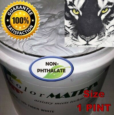 GEN Tiger White High Opaque / Low Bleed Plastisol Screenprint Ink Gallon