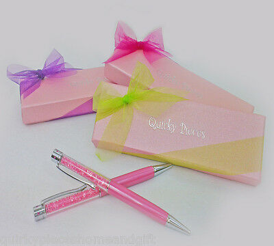 Wholesale Lot Of Gift Pens With GIFT BOXES Crystal Pen Pink Crystal Gift Pen