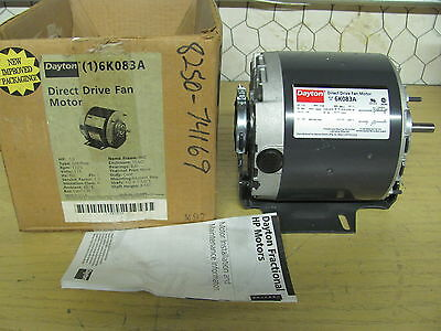 Ao smith 1 2hp condenser fan motor reversible 208 230v for Dayton direct drive fan motor