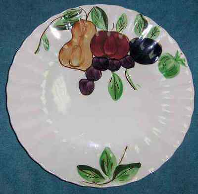 VINTAGE BLUE RIDGE POTTERY/SOUTHERN POTTERIES - FRUIT STAND - DINNER PLATE