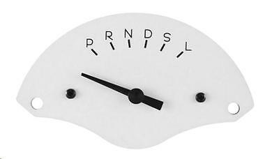 Classic Instruments 55 56 Chevy Bel Air 3 Speed Gear Shift Indicator White