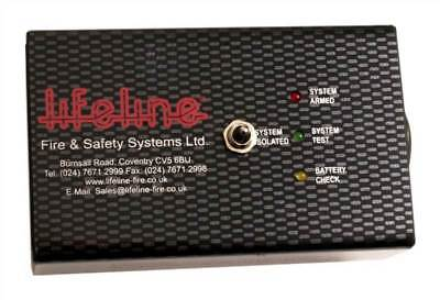Lifeline Electrical Fire Extinguisher Power Pack - New Style Box