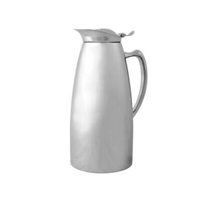 Insulated Jug 18/10 Quality Stainless Steel Satin Finish 900ml Serving Pitcher