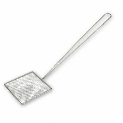Skimmer, 200x200mm, Square Mesh, Heavy Duty Chrome Plated, Oil Strainer