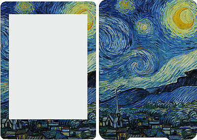 2013 Kindle Paperwhite Skin Cover Vinyl Sticker Starry Night KP5