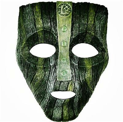 Resin Loki Mask Deluxe Jim Carrey The Mask Halloween Fancy Dress Costume