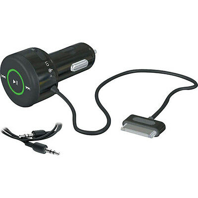 Griffin AutoPilot Control Car Charger Adapter with AUX Cable 4 iPhone Gift Wrap
