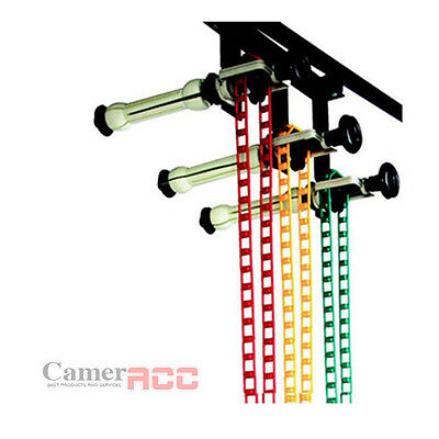 Studio Background Support System wall mount 3 Roller Backdrop for Paper Muslin