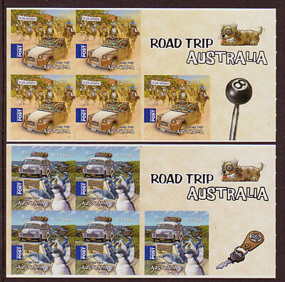 Australia 2012 Road Trip Australia S/A Pair Of Sheetlets Unmounted Mint, Mnh