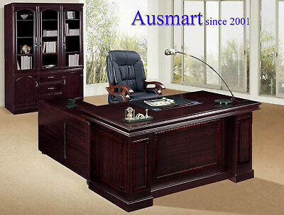 1.8m Veneer Office Executive Desk | Ausmart | free delivery within Melbourne