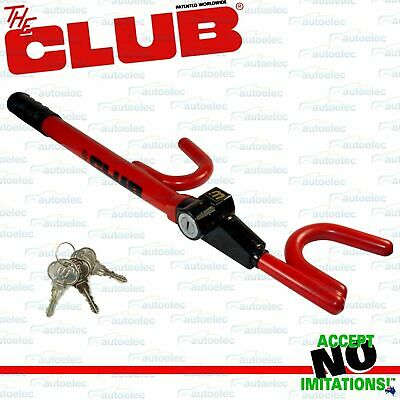 Genuine Club Universal Fit Anti Theft Car Bike Cycle Security Lock 1000A New