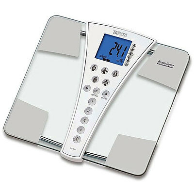 Tanita 200Kg Capacity InnerScan Body Composition Scales BC-587 Brand New 587