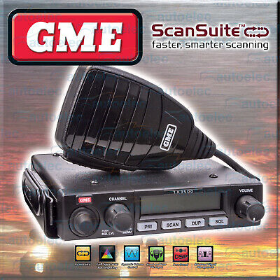 Tx3500S Gme 80 Channel Uhf Two Way 5W 80Ch Mobile Cb Radio 5 Watt Model New 4Wd