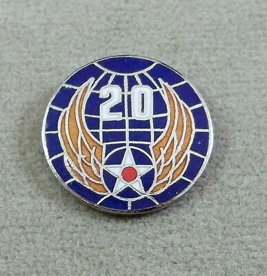 US Army Air Force 20th Air Force Pin  / Clutchback / Style B