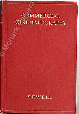 1933 Camera Book, Commercial Cinematography, Lots More Cine Camera Titles Listed