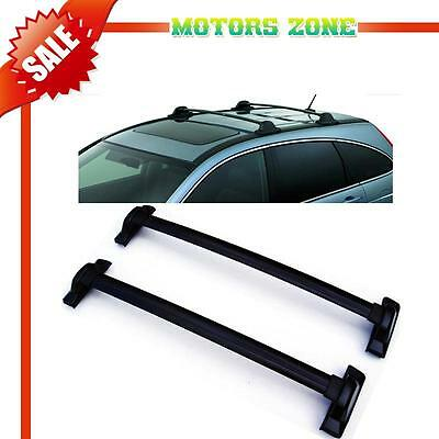 For 07-11 Honda CRV OE Style Black Roof Top Rail Rack Cross Bars Carrier