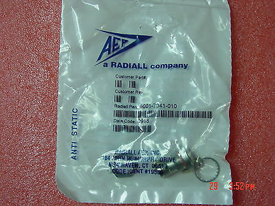 NEW RF Coaxial Panel Mount Connector 6001-7041-010 Radiall-AEP