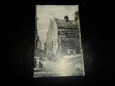 1906 SCARBOROUGH OLD BUTTER CROSS POSTCARD FALL RIVER MASS COLLECTION DUBOIS!