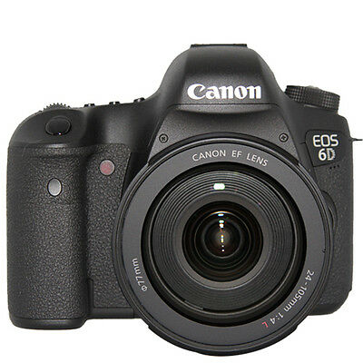 Canon EOS 6D Digital SLR Camera w/24-105mm f/4.0L IS Lens