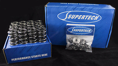 SUPERTECH TI RETAINERS & Single VALVE SPRING KIT Civic CRX D16z6 D16y8 D17a D15b