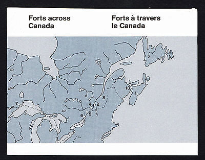 Canada 1983 Booklet Sc# 992A = BK 86 = Forts Across Canada = MINT VF NH