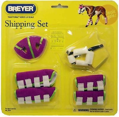 BREYER HORSES Traditional Series Shipping Set 1:9 Scale NEW #2039 * boots bumper