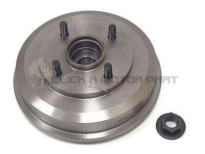 Ford Fusion 2002-2011 Rear 1 Brake Drum + 1 Fitted Wheel Bearing Hub Nut New
