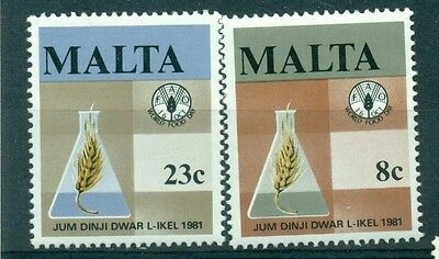 EMBLEMI - EMBLEMS MALTA 1981 World Food Day