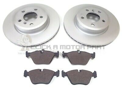 Front Brake Pads Brake Discs Full Axle Set 300mm Vented For BMW Z4 2.5 SI 3.0i