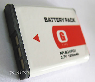 NP-BG1 Battery for SONY Cyber-shot DSC-HX5V DSC-HX7V DSC-HX9V Digital Camera NEW