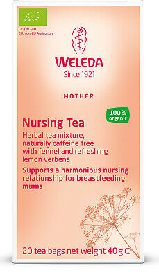 WELEDA Nursing tea increase milk supply natural breast feeding lactation organic
